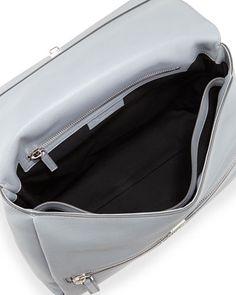 v2e55 givenchy pandora medium waxy calf bag gray
