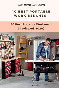 If you're looking for a portable folding workbench for your garage or workshop you've definitely come to the right place. Portable Workbench, Folding Workbench, Exterior Decoration, Lawn Fertilizer, Lawn Maintenance, Backyard, Patio, Fruit Garden, Cool Diy Projects
