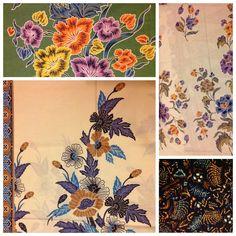 Flowers on Batik