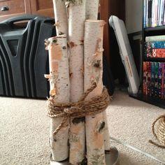 Burch wood lamp.