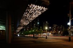 Maple Leaf Square Canopy - United Visual Artists