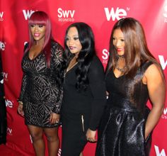 "From left to right Cheryl ""Coko"" Clemons, Leanne ""Lelee"" Lyons and Tamara ""Taj"" George Photo Credit: Malik LeGare/THZ USA"