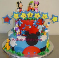 Birthday Cake Designs Ideas And Pictures Wedding Cakepins Mickey Mouse