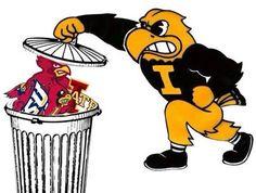 Iowa vs Iowa State haha so true