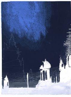 Night VI by Chitra Merchant | Buy Affordable Art Online | Rise Art