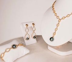 Pearls come better in sets.     #pearls #recycledgold #sustainable #ethical #cubiczirconia #inspiration #inspo #fashion
