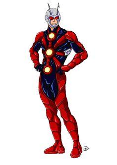 Ant-Man redesign finish by guygar79.deviantart.com on @deviantART