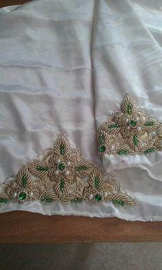 Bullion Embroidery, Zardosi Embroidery, Embroidery Fashion, Beaded Embroidery, Hand Embroidery, Embroidery Designs, Batik Prints, Gold Work, Hand Art