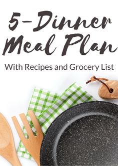 It's no secret that planning your menus ahead for the week not only saves you time, but reduces stress. These two benefits keep you on track and you're less likely to stray from your weight loss plan. Dinner is usually the last thing you want to think about when you're getting home late from …