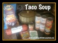 Taco Soup ~ Bean Pot Style. Order your bean pot today from http://www.CelebratingHome.com/sites/jennyfall