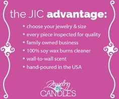 All the more reason to love Jewelry in Candles!