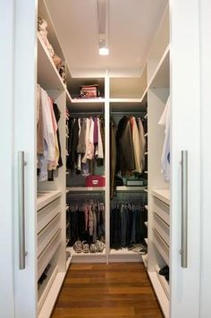 Small walk in closet remodel dressing rooms Trendy ideas Walk In Closet Small, Walk In Closet Design, Small Closets, Closet Designs, Walking Closet, Ikea Closet, Wardrobe Closet, Closet Storage, Storage Room