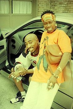 Tupac and his mom, Afeni Shakur ♥
