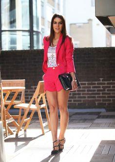 Camila Coelho, look-conjuntinho-pink