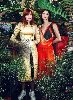 """Dreaming of Dior: """"On the Town"""" by Boe Marion for Marie Claire US July 2015"""