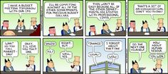 Oh, Dilbert, Dilbert, Dilbert...
