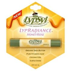 I'm learning all about Lypsyl Lypradiance Honey Rose Lip Balm at @Influenster!