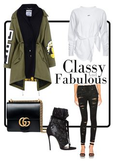 """""""Marq London Fall styling."""" by marq-london on Polyvore featuring Gucci, Dsquared2 and Moschino"""