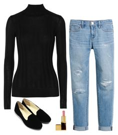 """""""Rachel Zane Inspired Outfit"""" by daniellakresovic ❤ liked on Polyvore featuring Jason Wu, Tom Ford and White House Black Market"""