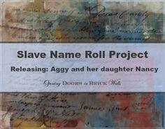 Slave Name Roll Project #slavenamerollproject #genealogy #familyhistory #westvirginia