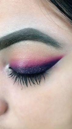 Eye Makeup Steps, Makeup Eye Looks, Eye Makeup Art, Smokey Eye Makeup, Eyebrow Makeup, Skin Makeup, Eyeshadow Makeup, Makeup Tips, Makeup Hacks