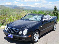 Make: 1999 Mercedes Benz CLK320 Cabriolet  Odometer:  97,368  V.I.N. #: WDBLK65G0XT008753  Stock #: C324  Exterior Color: Black  Interior: Ash