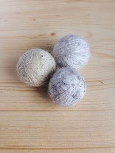 Bolas para la secadora | Aprender manualidades es facilisimo.com