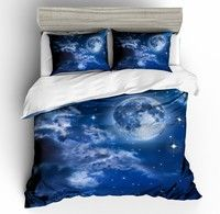 3d Night Sky Bedding Set Outer Space Bedding Set Stars Galaxy