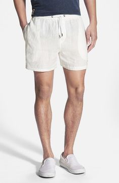Parke & Ronen Linen Shorts | Where to buy & how to wear