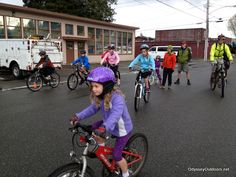 Bike safety with games and skills