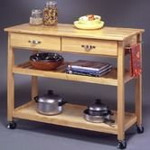 Found it at Wayfair - Solid Wood Top Kitchen Island Cart $249, 96 rev