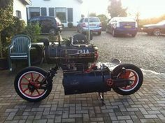 Steam bike