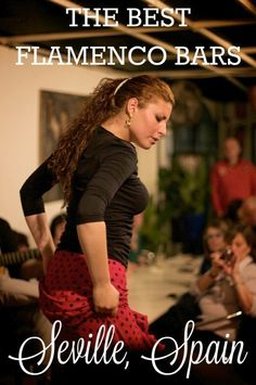 Seeing flamenco is one of the essential things to do while in Seville. But where to go if you want a truly authentic experience? These flamenco bars are where to find the best singing, dancing and guitar playing in all of Spain #flamenco #spain #tourism #travel #vacationideas #travelideas #traveltips
