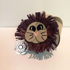 LION with Curvy Keepsake Box