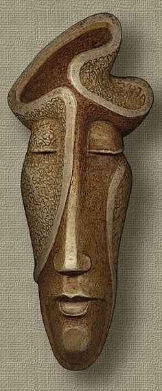 Mask by Boris Indrikov.