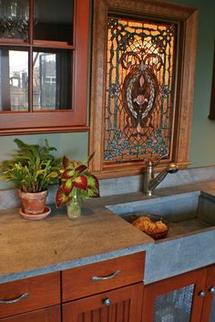 """Soapstone Countertops Design, Pictures, Remodel, Decor and Ideas  """"I love soapstone and hope to use it in a kitchen someday! :D"""""""