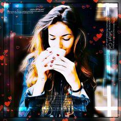 Coffee lover girl