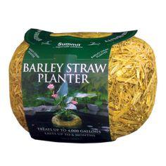 Summit 4000-Gallon Clear Water Barley (Brown) Straw Planter (Summit Clear-Water Barley Straw Planter)