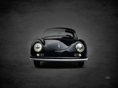 Porsche 356 Art Print by Mark Rogan. All prints are professionally printed, packaged, and shipped within 3 - 4 business days. Choose from multiple sizes and hundreds of frame and mat options.
