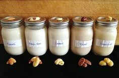 Homemade nut milk is a great dairy-free alternative and is also very cost effective comparatively to buying store bought nut milks. Raw Vegan Recipes, Milk Recipes, Almond Recipes, Whole Food Recipes, Almond Cashew Milk Recipe, Pecan Milk Recipe, Sante Bio, Dairy Free Alternatives, Vegetarian