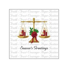 SW-00529 Industry Specific Christmas Card for Attorneys. Legal ...