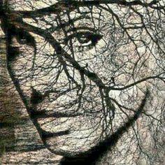 Romance, Artist, Branches, Positive Messages, Graphic Art, Faces, Faces, Romance Film, Romances