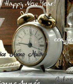 beautiful vintage alarm clock