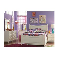Jaclyn Place 5 Pc Twin Bedroom ($777) ❤ liked on Polyvore featuring home, children's room and children's furniture