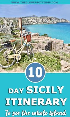 The Ultimate 10 day Sicily Itinerary - The Globetrotter GP - Struggling to decide if to base yourself on the east or west coast? May I suggest you rent a car an - Sicily Travel, Italy Travel Tips, Rome Travel, Travel Info, Best Places To Travel, Cool Places To Visit, Vacation Places, Visit Sicily, Sicily Italy