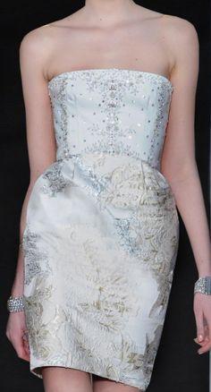 This dress is short but still very formal!