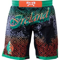 MyHouse Sublimated Ireland Wrestling Fight Short