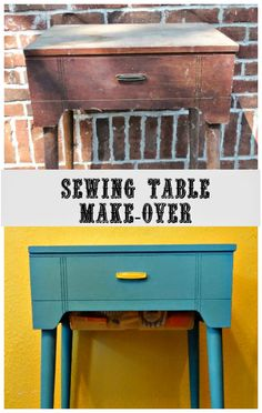 The Cookie Puzzle: Sewing Table Make-Over