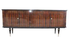 French  Art Moderne Macassar Buffet on OneKingsLane.com
