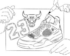 Coloring Printable Pages Of Michael Jordan